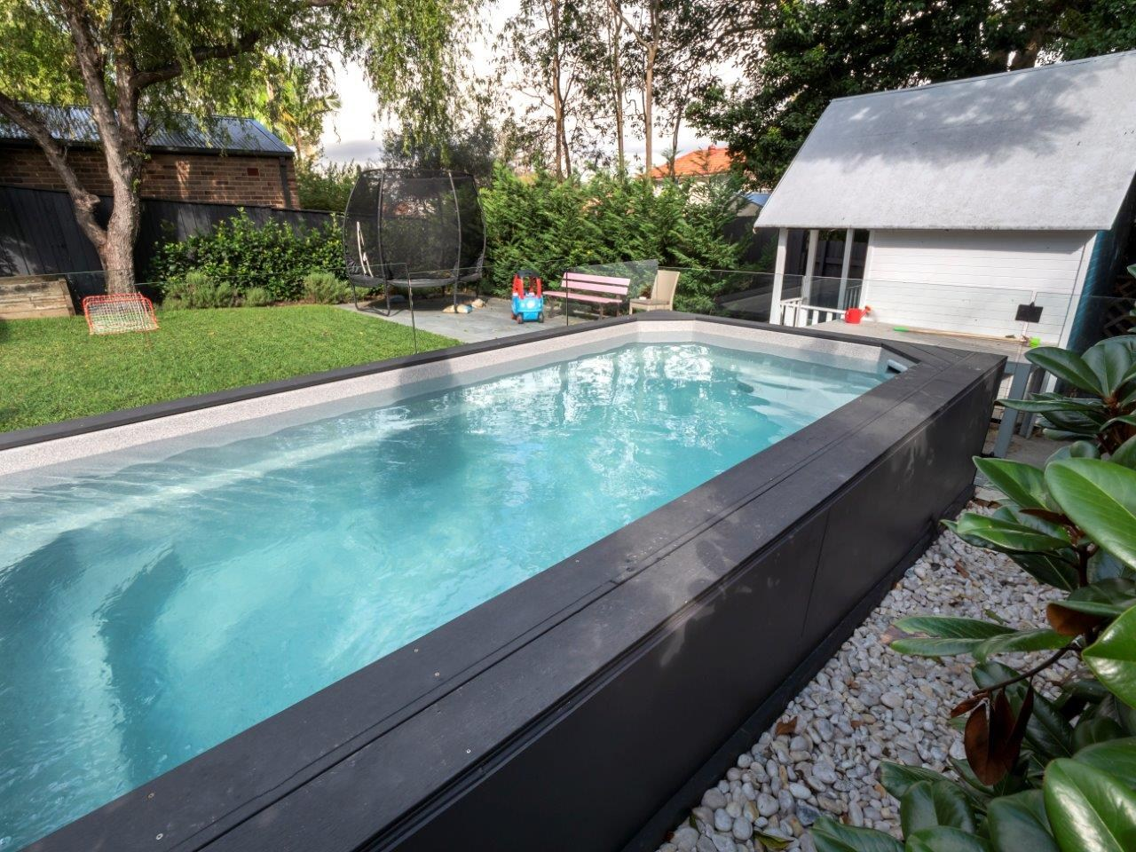 ez plunge pool Relax above ground pool view 2